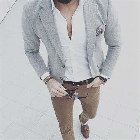 business casual attire  men  relaxed office style ideas