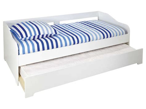 Lit Tiroir 90 by Lit Divan 90 Cm Tiroir Lit Sunset Coloris Blanc Vente
