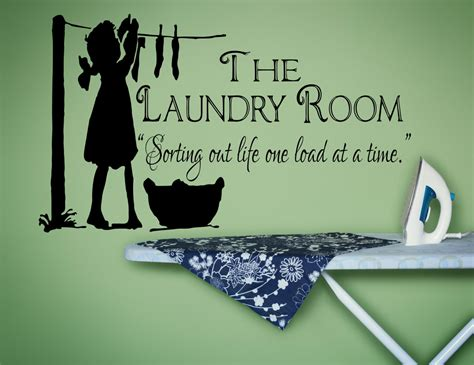 Laundry Room Decals by Laundry Room Decor Laundry Sign Laundry Room Decal Laundry