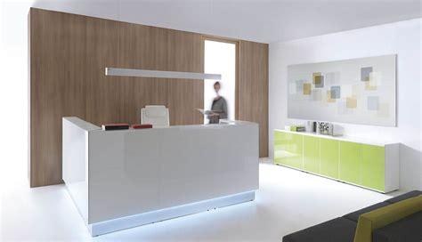 Modern Lobby Recepcion Mostrador Muebles De Oficina Mesas Sillas