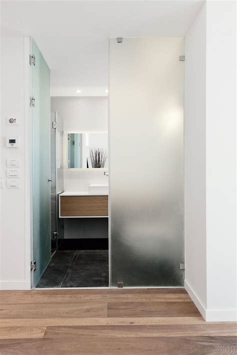 bathroom doors with glass frosted glass interior double doors for small and narrow