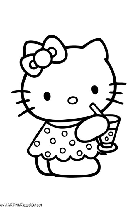 imagenes infantiles hello kitty dibujos para pintar y colorear de hello kitty hello kitty