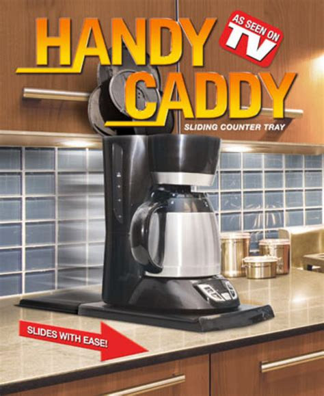 handy caddy sliding kitchen under cabinet appliance moving countertops benches handy caddy the sliding kitchen