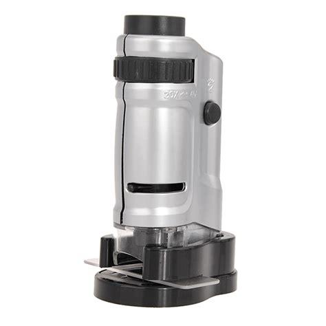 20x 40x zoom led mini pocket microscope magnifier mg10081