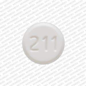 211 pill images (white / round)