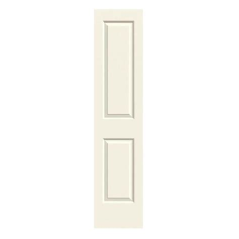 18 Interior Doors Jeld Wen 18 In X 80 In Cambridge Vanilla Painted Smooth Solid Molded Composite Mdf