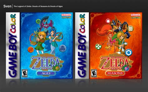 the legend of oracle of seasons oracle of ages legendary edition the legend of legendary edition the legend of oracle of seasons ages boy color