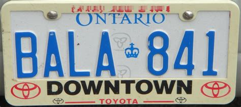 License Plate Lookup Ontario Ontario Licence Plates Search