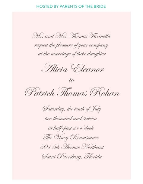 wording for catholic wedding invitations church wedding invitation wording sunshinebizsolutions