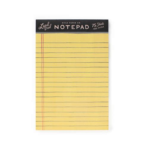 Letter Pad image gallery note pad