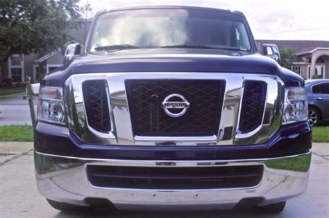 manual cars for sale 2012 nissan nv3500 engine control buy used 2012 navy blue nissan nv3500 sv 12 person passenger van 3 door 4 0l like new in