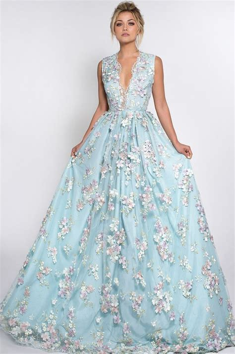 nontraditional bridesmaid chagne and blue stunning wedding dresses for non traditional brides