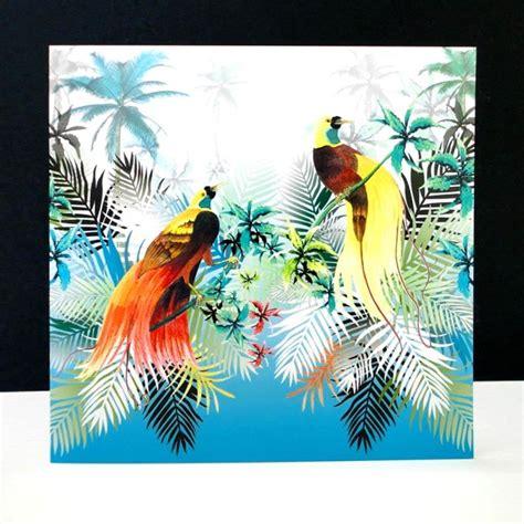 Birds Of Paradise Card Decorque Cards
