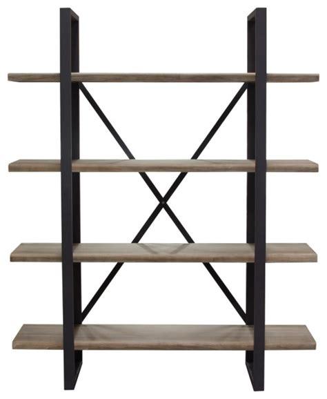 montana   tiered shelf unit rustic oak finish