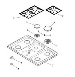 jennair gas cooktop parts jenn air gas cooktop parts model jgc1536ads sears
