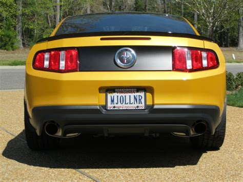 Custom Vanity Plates by Personalized License Plates For Your The Mustang Source Ford Mustang Forums