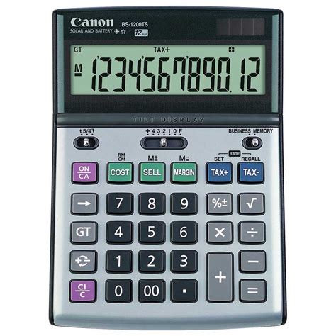 Calculator Joyko 12 Digits Standard Desktop Calculator canon 12 digit calculator bs1200ts calc6050 cos