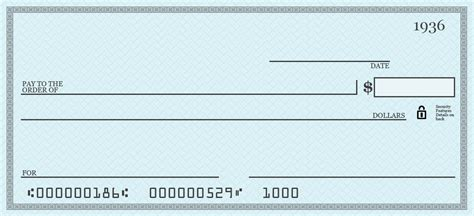 How Do You Write A Check To Pay For Something Opencurriculum Large Check Template