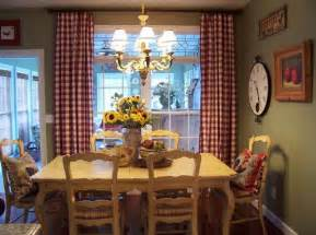 Country Dining Room Curtains How To Achieve A Country Style