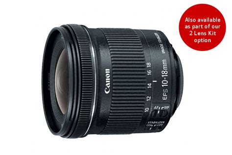 Lensa Canon Wide 10 18mm ef s 10 18mm f 4 5 5 6 is stm