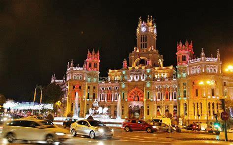imagenes navidad madrid 2017 visita palacio de cibeles viajar a madrid