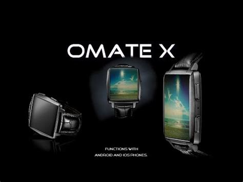 Smartwatch Omate X the omate x smartwatch