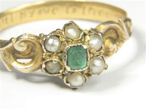antique posy poesy ring constant prove to thee my