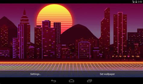neon city  wallpaper android apps  google play