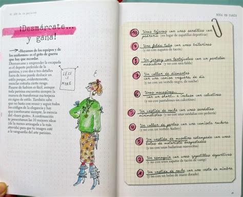 libro la parisina lookbook libros de maquillaje estilo y moda la parisina de in 232 s de la fressange paperblog