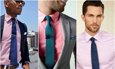 suit and tie combinations with a pink shirt the idle