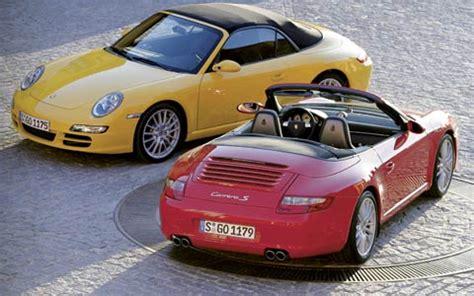 2005 porsche 911 carrera cabrio first look motor trend