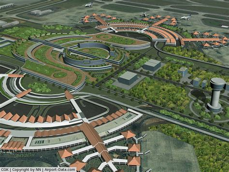 layout runway bandara soekarno hatta soekarno hatta international airport cengkareng banten