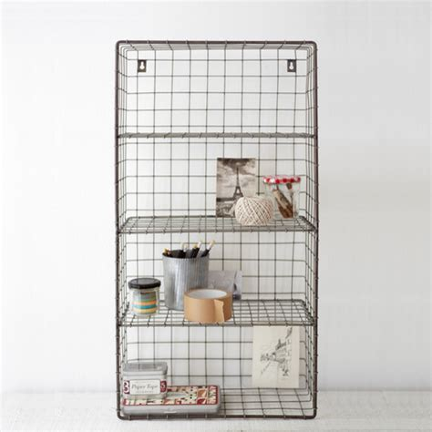 wire wall rack contemporary display and wall shelves