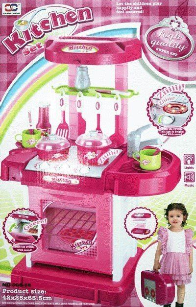 Cook Kitchen Pink Koper Roda jual mainan kitchen set murah dhian toys