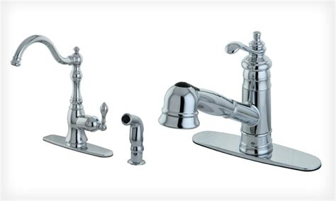 vintage style kitchen faucets groupon goods