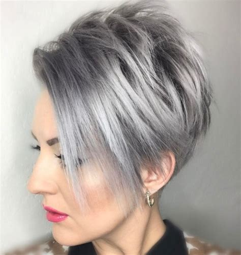gray hair bob haircuts 40 bold and beautiful short spiky haircuts for women