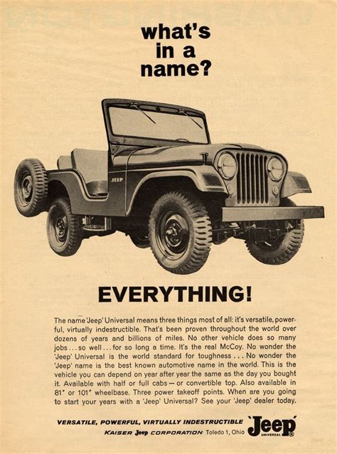 15 Best Images About Vintage Jeep On Jeep