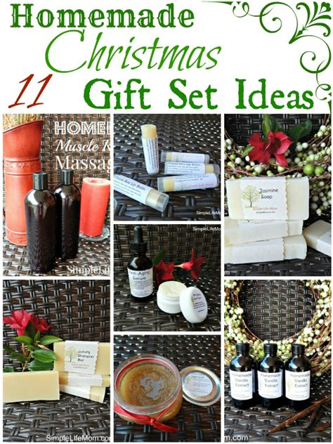 11 homemade christmas gift set ideas simple life mom