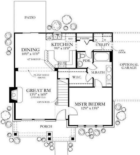 country house floor plans 4 bedrm 1387 sq ft country house plan 136 1020