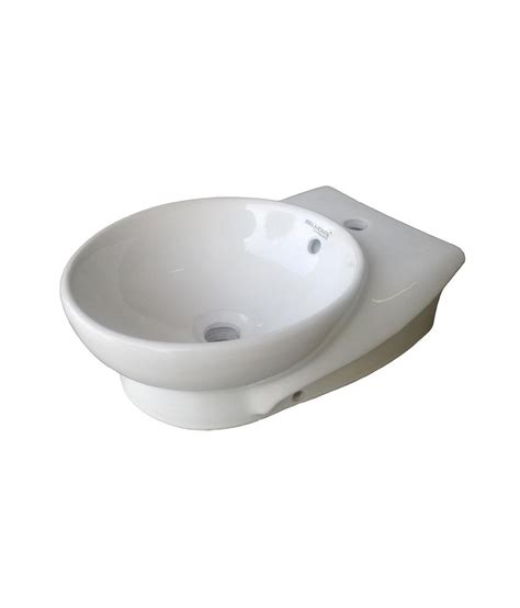 table top wash basin buy belmonte table top wash basin ovo 12 inch x 17 inch