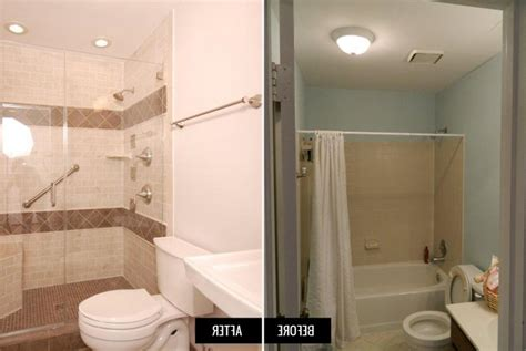 small bathroom remodel before and after photos