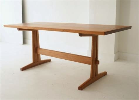 Handmade Trestle Dining Table Trestle Table By Forest Furniture Custom Handmade Trestle Dining Table Mahogany Cherry