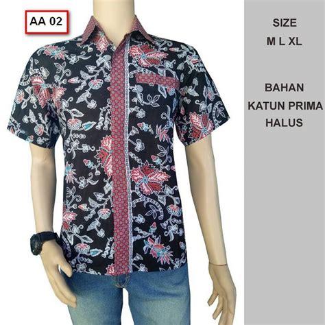 Murah Kemeja Batik Baju Modern Pria Baju Pendek Atasan Pria 12 40 foto model kemeja baju batik pria lengan pendek terbaru