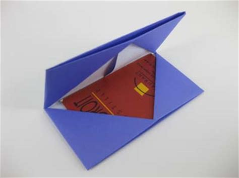 Origami Mpls - origami card holder folding how to fold an