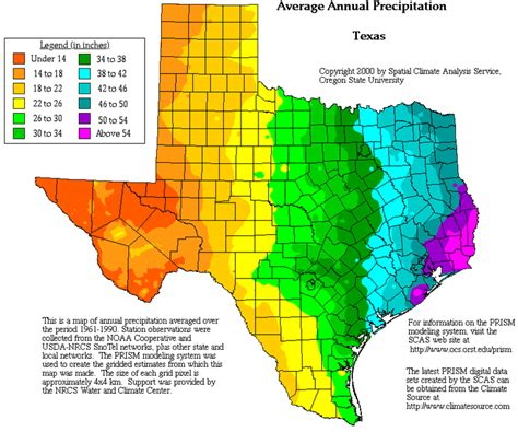 vegetation map of texas texas geography and climate texas av tech project