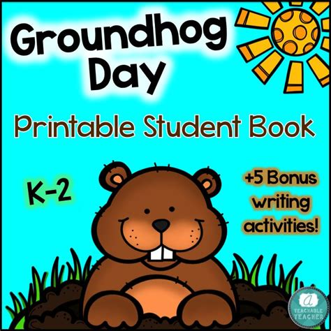 groundhug day books book template category page 1 sawyoo