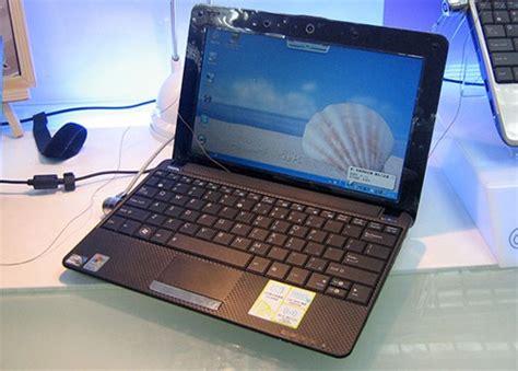 Notebook Asus Eee Pc1001 Ha asus eee pc 1001ha mit carbonturbolook engadget deutschland