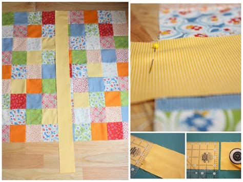 Sewing Quilt Borders by Quilt Along Series Sewing On Borders Make And Takes