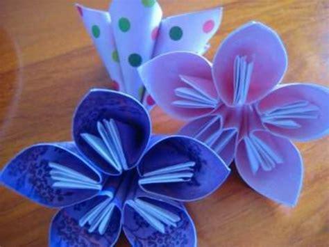 Origami Möbel 3473 by Un Origami Facile Fleur 224 Offrir Ou Pour Vous Amuser
