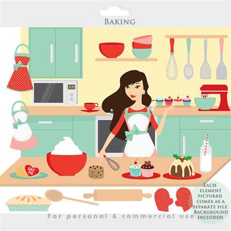clipart cucina clipart clipart cucina ragazza grembiuli cibo dolci
